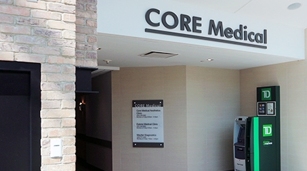Image of entry to The Core Medical