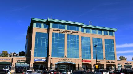 Exterior photograph of Crowfoot Business Centre