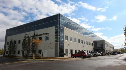 Exterior photograph of South Calgary Health Centre