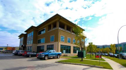 Exterior photograph of Sunpark Professional Centre