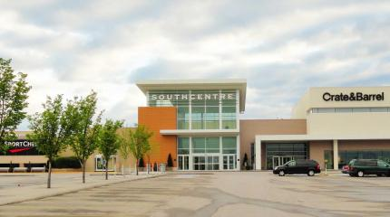 Exterior photograph of Southcentre Mall